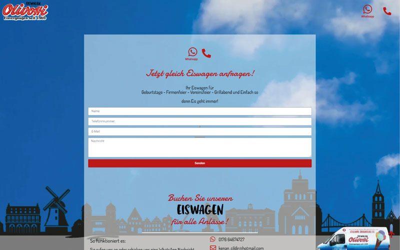 Eiswagen-Olivotti-Website-Marketing