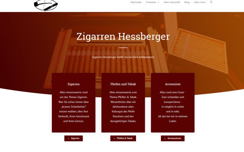Zigarren Hessberger Bielefeld von Marvin Consten